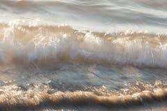 海浪波浪 免版税库存照片