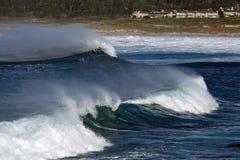 海浪波浪 库存图片