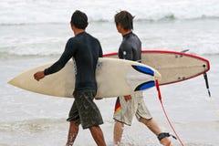 海浪注意 库存图片