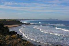 海浪海滩腓力普海岛 免版税库存图片
