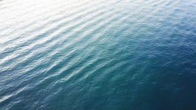海浪,海鸟瞰图挥动 股票录像