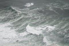 海浪从上面 免版税库存图片