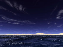 海浪 库存照片