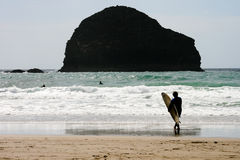 海浪 免版税图库摄影