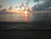 海浪Aguadillia波多黎各 免版税库存照片