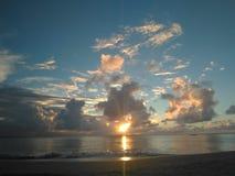 海浪Aguadillia波多黎各 免版税图库摄影