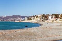 黑海海岸索契 俄国 库存照片