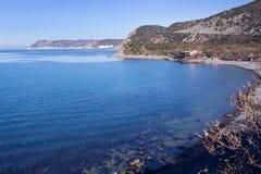 黑海海岸 免版税库存图片