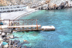 黑海海岸 免版税库存照片