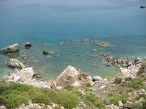 海海湾视图 免版税库存图片