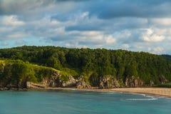黑海海湾 库存照片