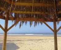 海海滩视图 库存照片