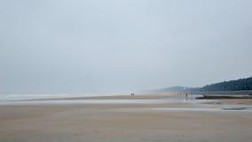 海海滩Digha 免版税库存图片