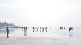 海海滩Digha 免版税库存照片