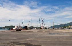 海港 图库摄影