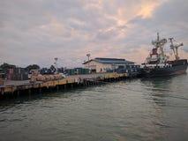海港 库存照片