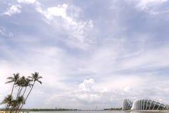 滨海湾公园,新加坡 图库摄影