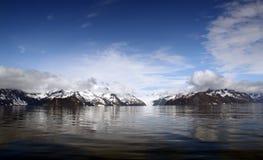海湾冰川holgate kenai国家公园 免版税图库摄影