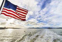 海湾加利福尼亚弗朗西斯科・圣 库存图片