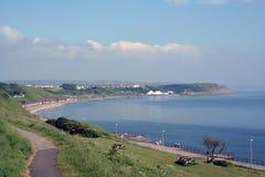海湾北部scarborough视图 免版税图库摄影
