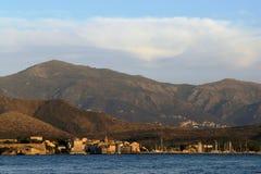 海湾可西嘉岛florent st 免版税库存图片
