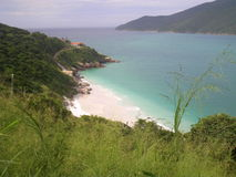 海湾在巴西 库存照片