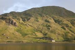 海湾在Connemara国家公园;县;戈尔韦 免版税库存照片