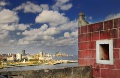海湾堡垒哈瓦那地平线 免版税库存图片