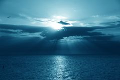 海湾墨西哥 免版税库存照片