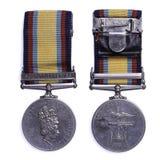 海湾奖牌1990-1991 图库摄影