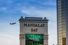 海湾娱乐场las曼德勒维加斯 免版税库存图片