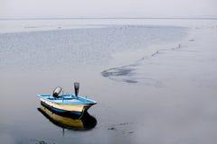 海湾小船chunsu韩国 免版税库存图片