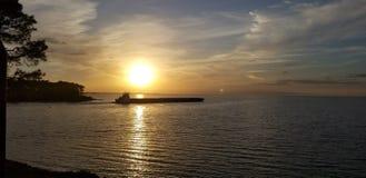 海湾岸,阿拉巴马 库存图片