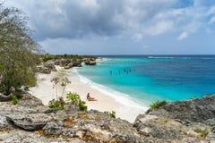 主任海湾库拉索岛景色 免版税库存照片