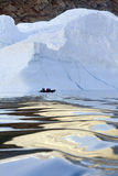 海湾弗朗兹・格陵兰冰山约瑟夫 免版税库存图片