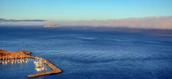 海湾弗朗西斯科・圣 免版税库存图片