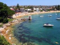 海湾悉尼华森 免版税库存照片