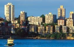 海湾悉尼 免版税库存图片