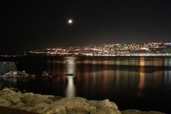 海湾意大利那不勒斯 免版税库存照片
