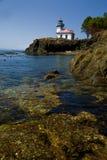 海湾房子海岛胡安轻的照片圣 免版税库存照片