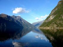 海湾挪威 库存照片