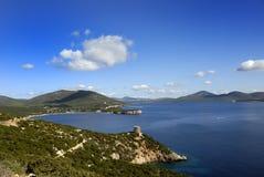 海湾撒丁岛 免版税图库摄影