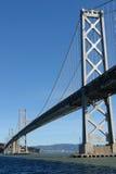 海湾桥梁弗朗西斯科・圣 免版税库存照片