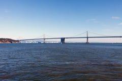 海湾桥梁 图库摄影