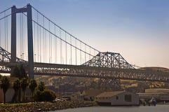 海湾桥梁carquinez弗朗西斯科・圣 库存照片