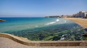 海湾比亚利兹 免版税库存照片