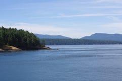 海湾海岛在加拿大 库存图片