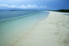海湾海滩本田海岛palawan菲律宾 库存图片