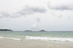 海湾海滩萨尼亚yalong 免版税库存照片