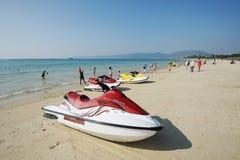 海湾海滩萨尼亚yalong 免版税库存图片